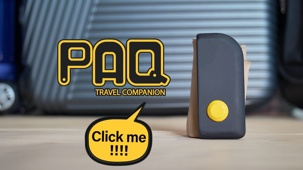PAQ: Travel Companion project video thumbnail