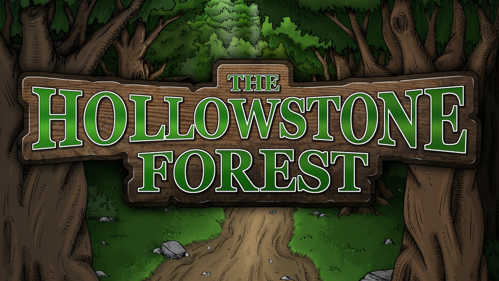 Hollowstone Forest | Map accessories for role-playing games project video thumbnail