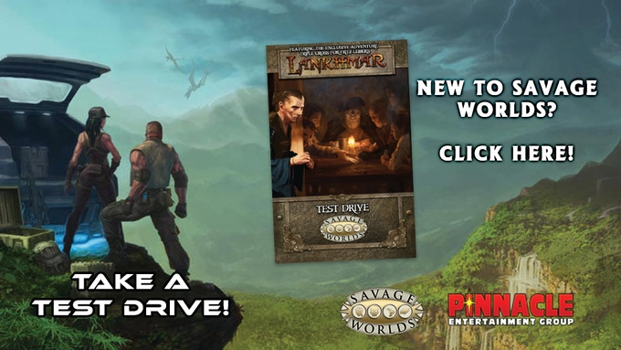 Click here to try out the game and get a free adventure for Fritz Leiber's Lankhmar!
