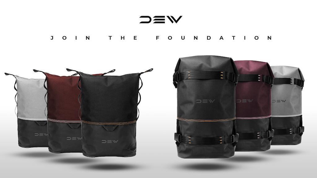 DEW. Street inspired, weatherproof backpacks.