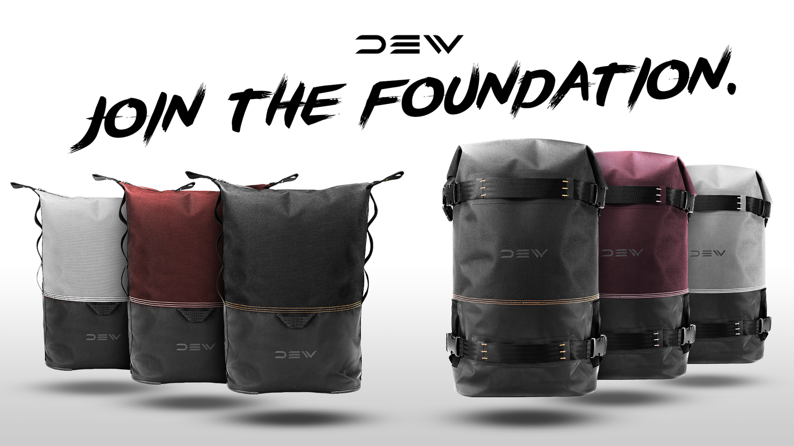 A collection of high-quality, weatherproof backpacks with urban aesthetics. One for the essentialist. One for the actionist.