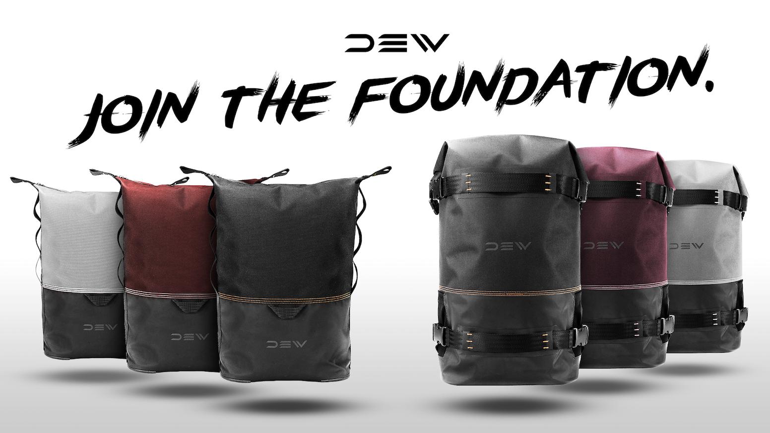 933a6f59721e DEW. Street inspired, weatherproof backpacks. by DEW — Kickstarter