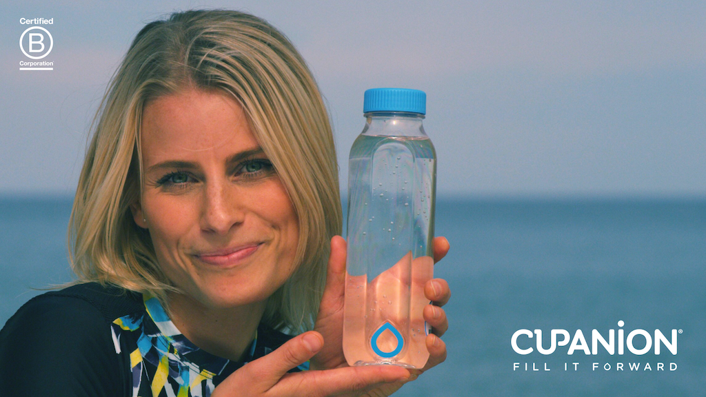Cupanion—the world's most empowering reusable bottle project video thumbnail