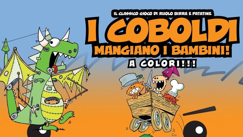 I COBOLDI MANGIANO I BAMBINI + MUNCHKIN project video thumbnail
