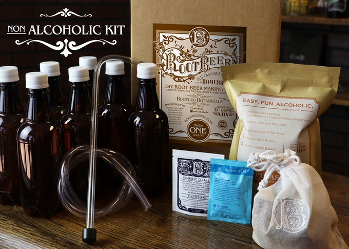 Brew Your Own Old Fashioned, Alcoholic Root Beer Naturally