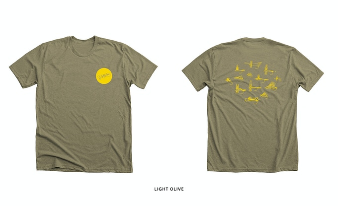 Tight Loops 'Weapon of Choice' T-Shirt Reward