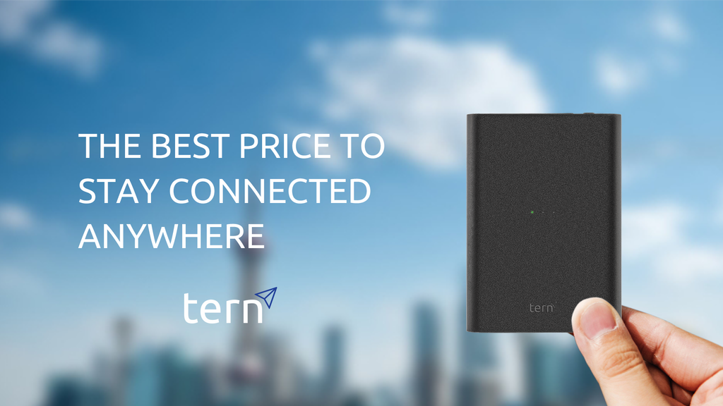 Tern - The Best Price to Stay Connected Anywhere
