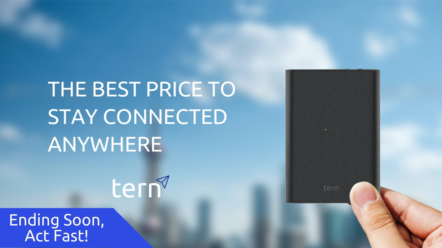 Tern - The Best Price to Stay Connected Anywhere by Tern — Kickstarter
