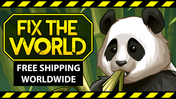 Missed the campaign? Subscribe to our mailing list to be notified when Fix the World is officially released.