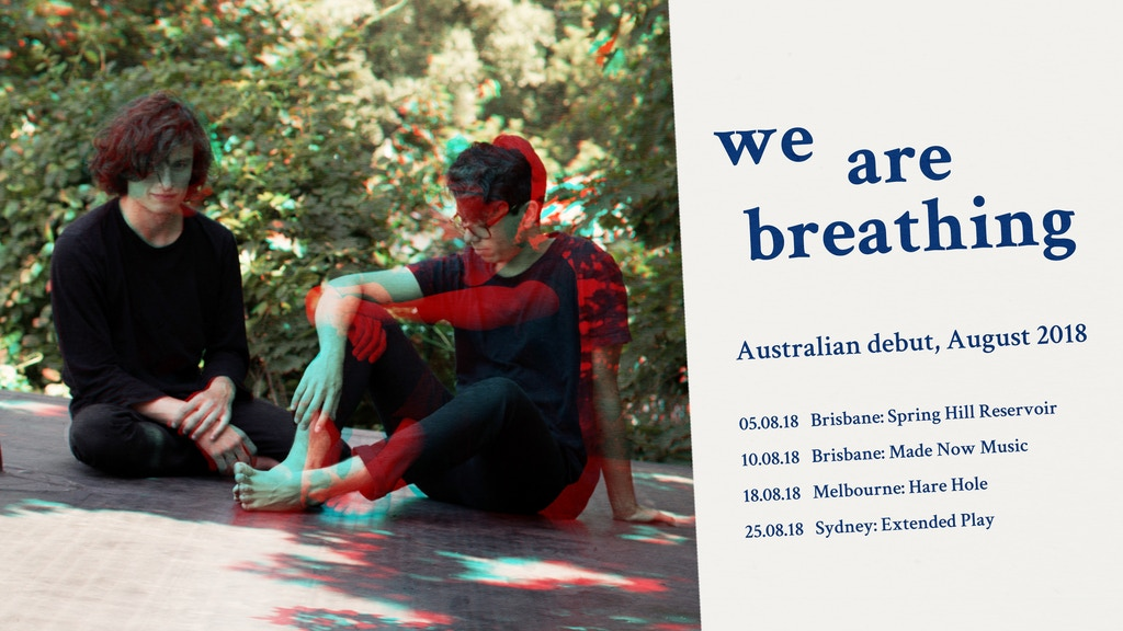 We Are Breathing: Australian Debut project video thumbnail