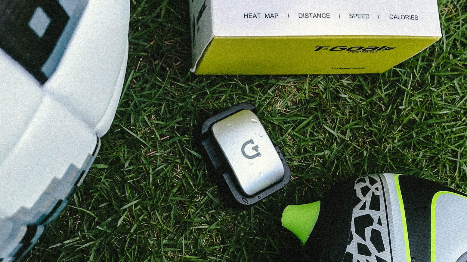 A smart wearable sensor that collects your in-game football(soccer) data, allowing you to adjust and plan your training like the pros!