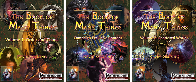 The Book of Many Things - Print Edition by Kevin Glusing