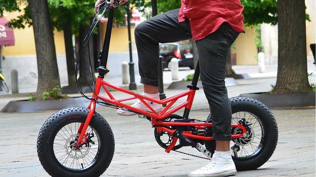 Parillino, the italian folding bike and e-bike