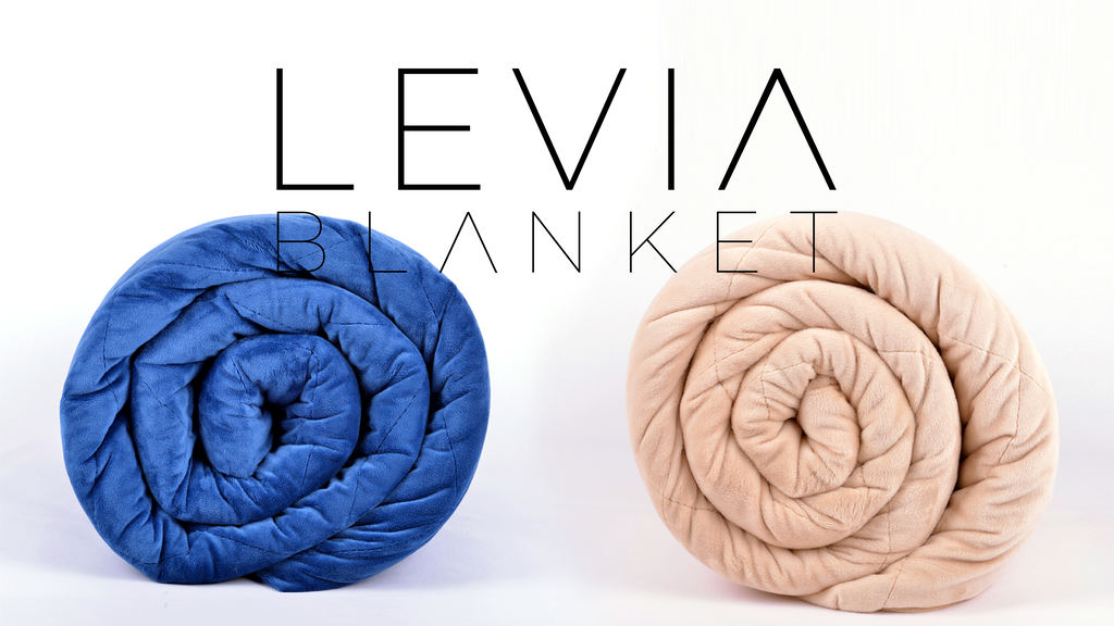 LEVIA: This weighted blanket changes the way you sleep