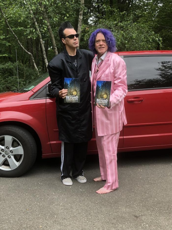 Magician Rudy Coby & Baby Tattoo Ringmaster Bob Self (and The Van)