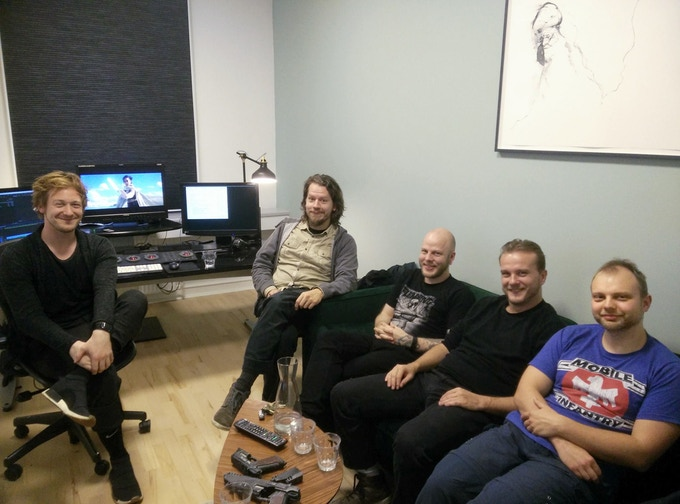 """The VFX team who worked on the """"Shrouded Destiny"""" promotion scene"""