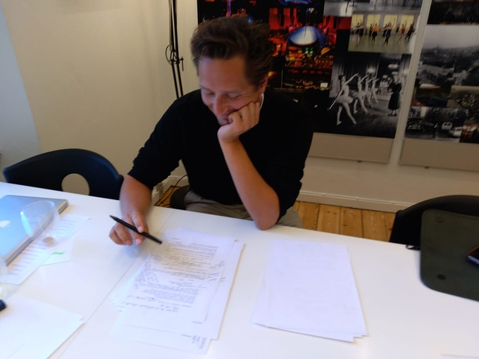 Award-winning playwright Magnus Iuul Berg is consulting on the script