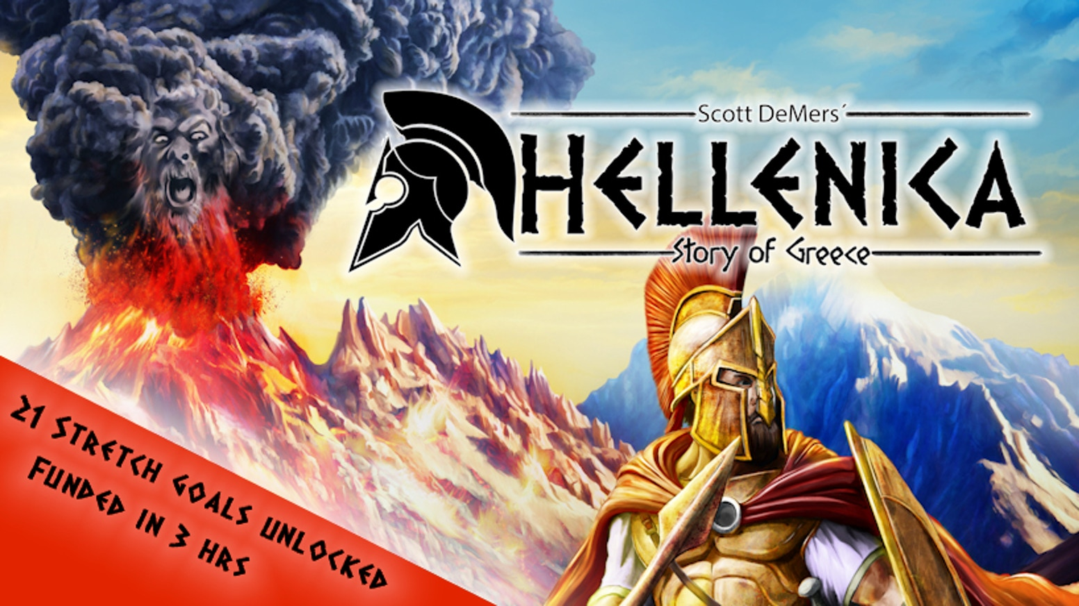 Hellenica: Story of Greece is a 3.5x competitive game for 1-7 players set in Ancient Greece.
