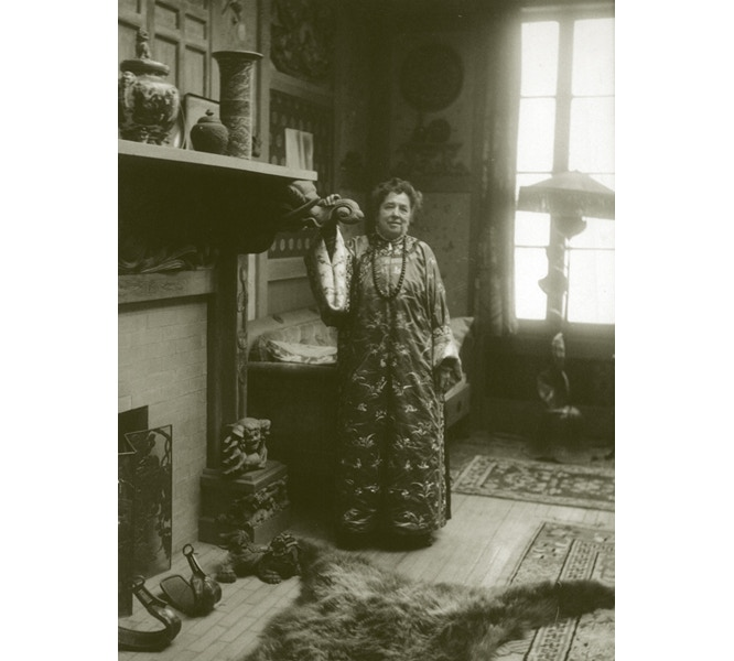Emily Noyes Vanderpoel at home (courtesy Litchfield Historical Society)