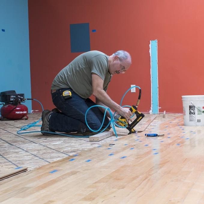 Kevin hard at work