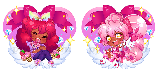 Valerie charm design, Side A and Side B
