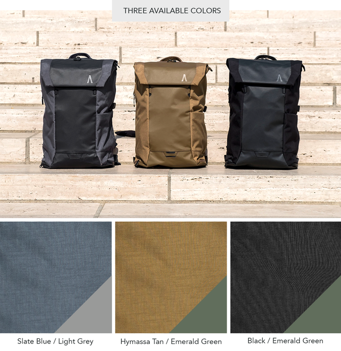 Errant  The Ultimate Everyday Backpack by Boundary — Kickstarter 17489f45650d4