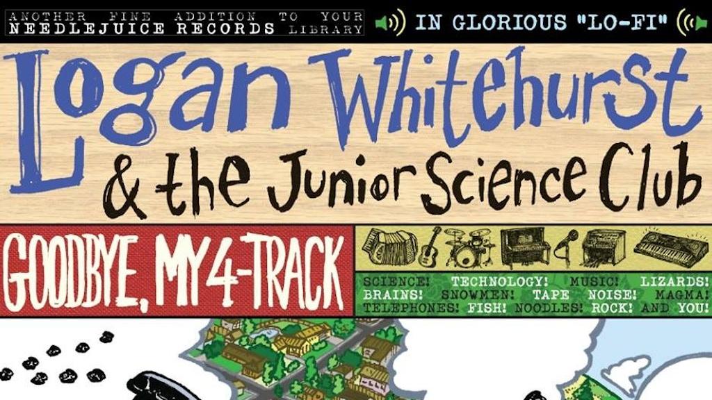 Logan Whitehurst - Goodbye, My 4-Track on Vinyl, CD, & Tape project video thumbnail