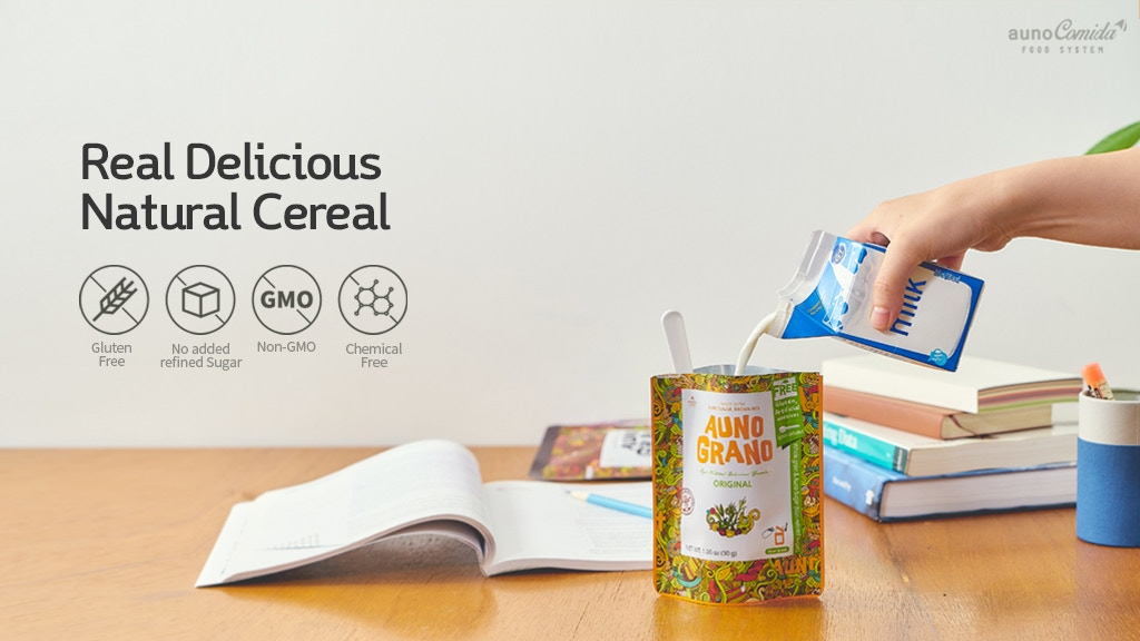 AUNO: Natural Ingredients l Chemical Free Cereal and Candy project video thumbnail