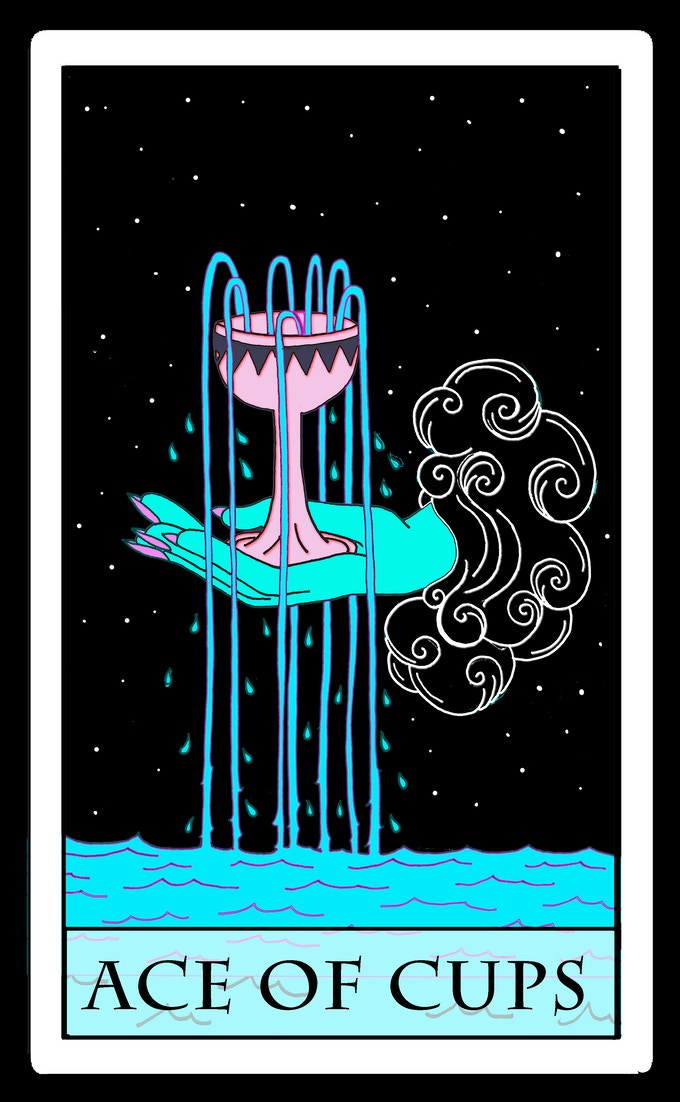 Moon Power Tarot by Charlie Quintero — Kickstarter