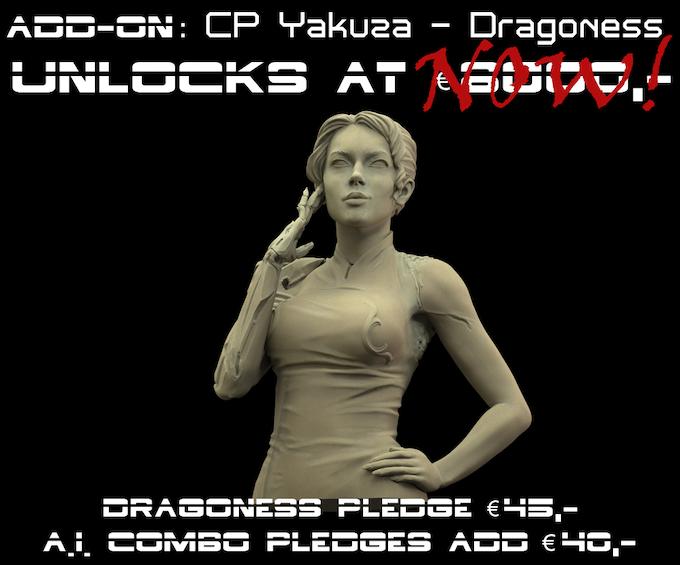 CP Yakuza Dragoness