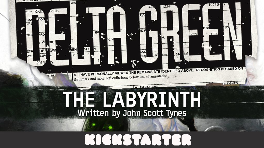 Delta Green: The Labyrinth project video thumbnail