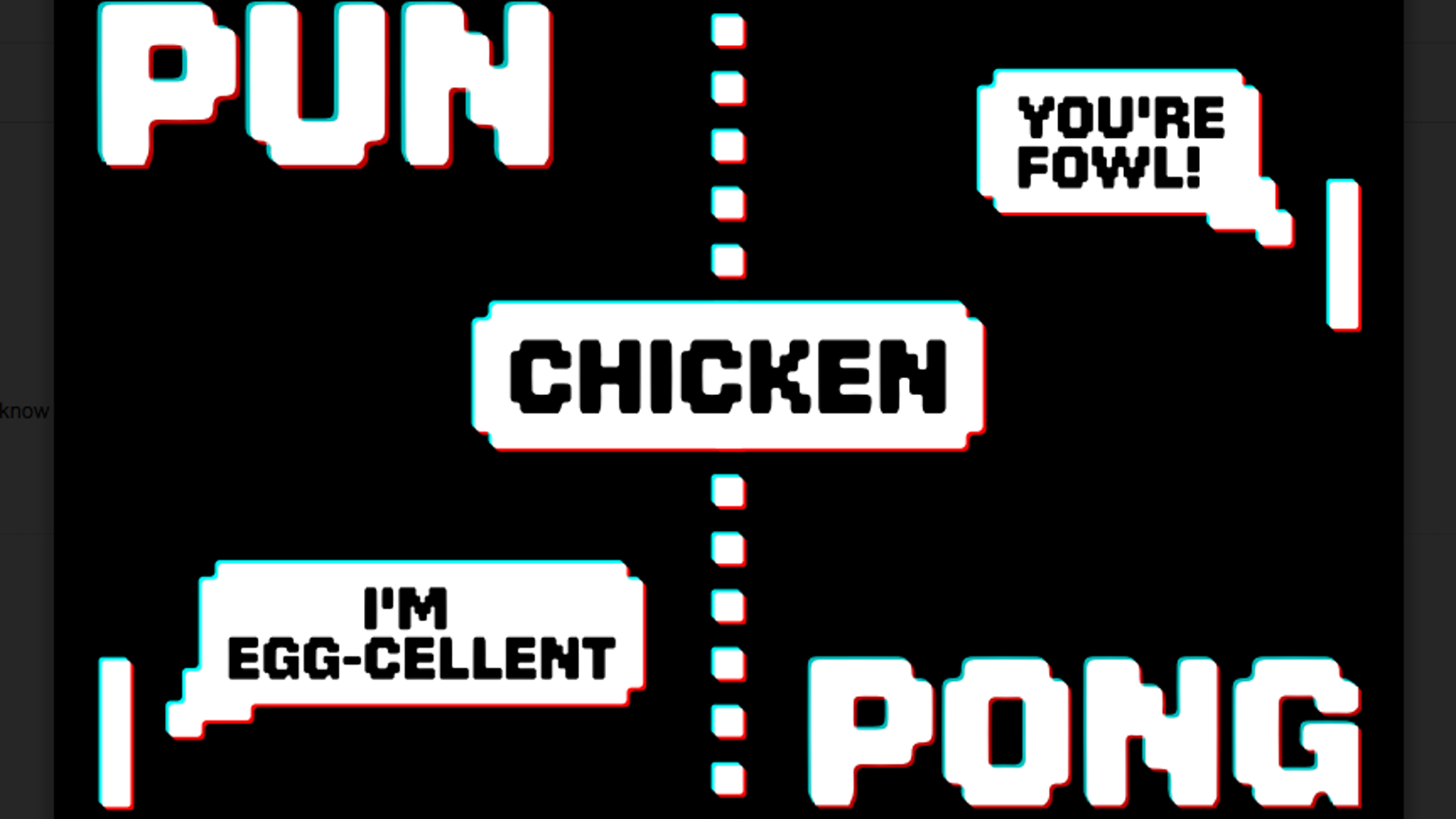 pun pong an excellent card game for punny people by bread and