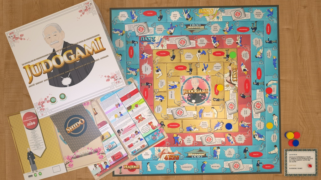Judogami the Judo board game project video thumbnail