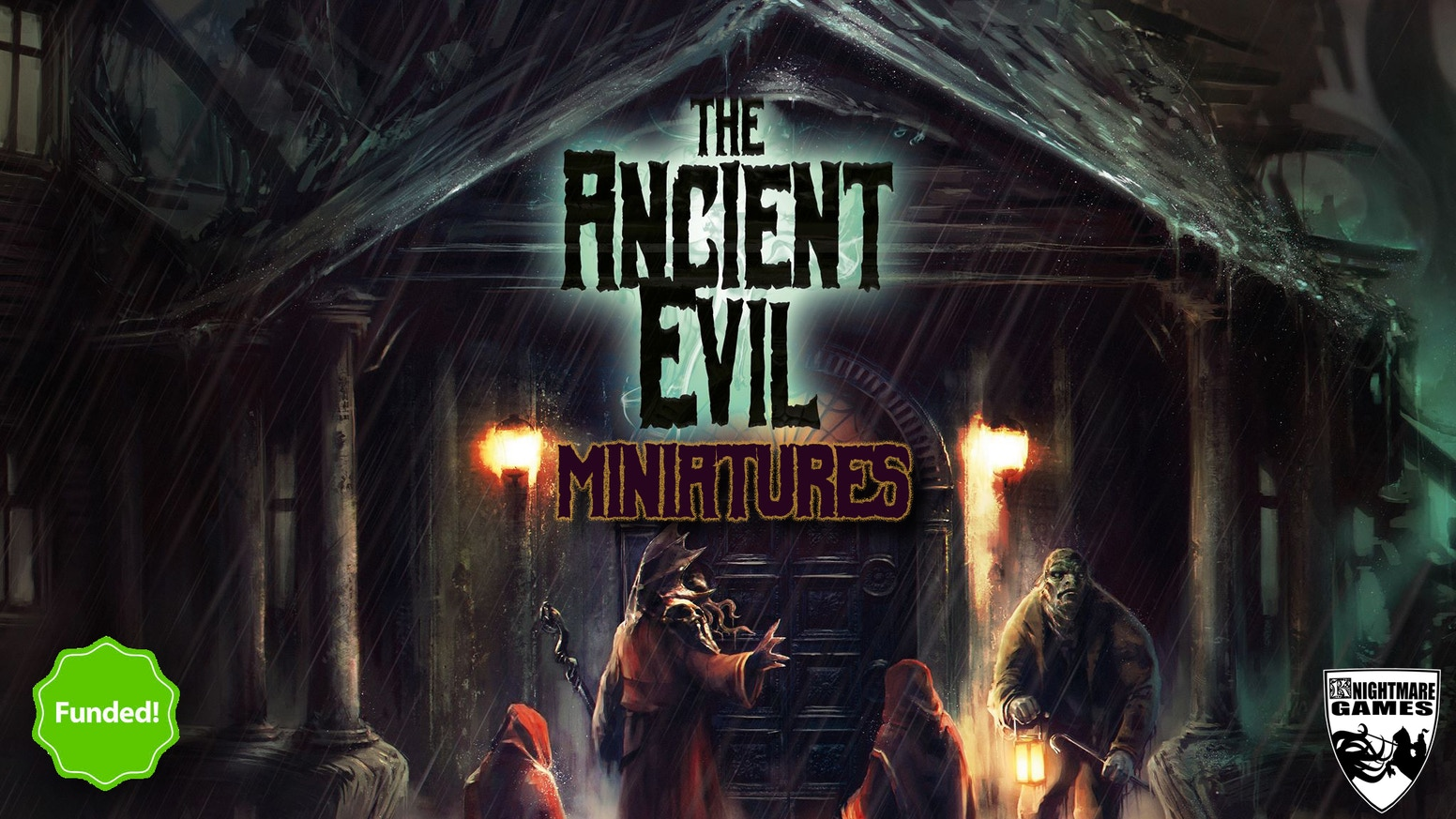 Ancient Evil is a high detailed resin miniatures range, covering many of the creatures created by H.P. Lovecraft for the Cthulhu mythos
