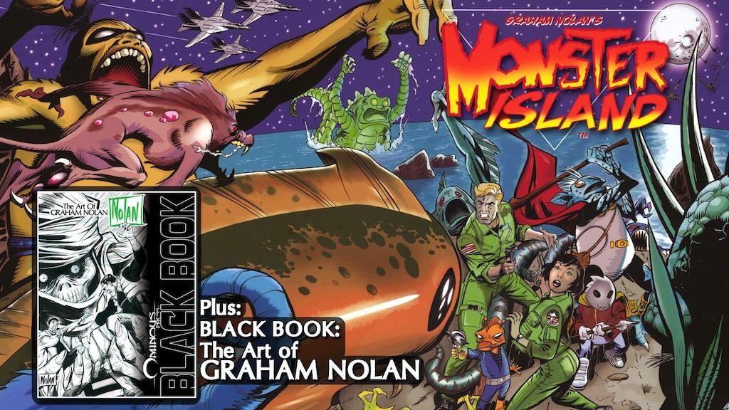 Batman artist Graham Nolan's Monster Island Comic & Art Book project video thumbnail