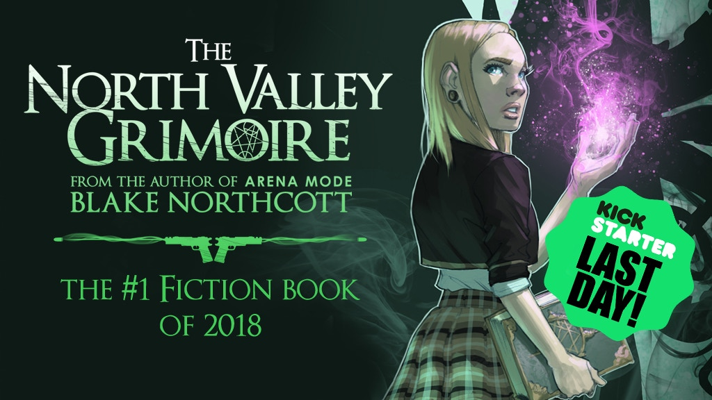 THE NORTH VALLEY GRIMOIRE - A magic realism spy thriller project video thumbnail