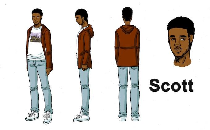 Scott Character Design