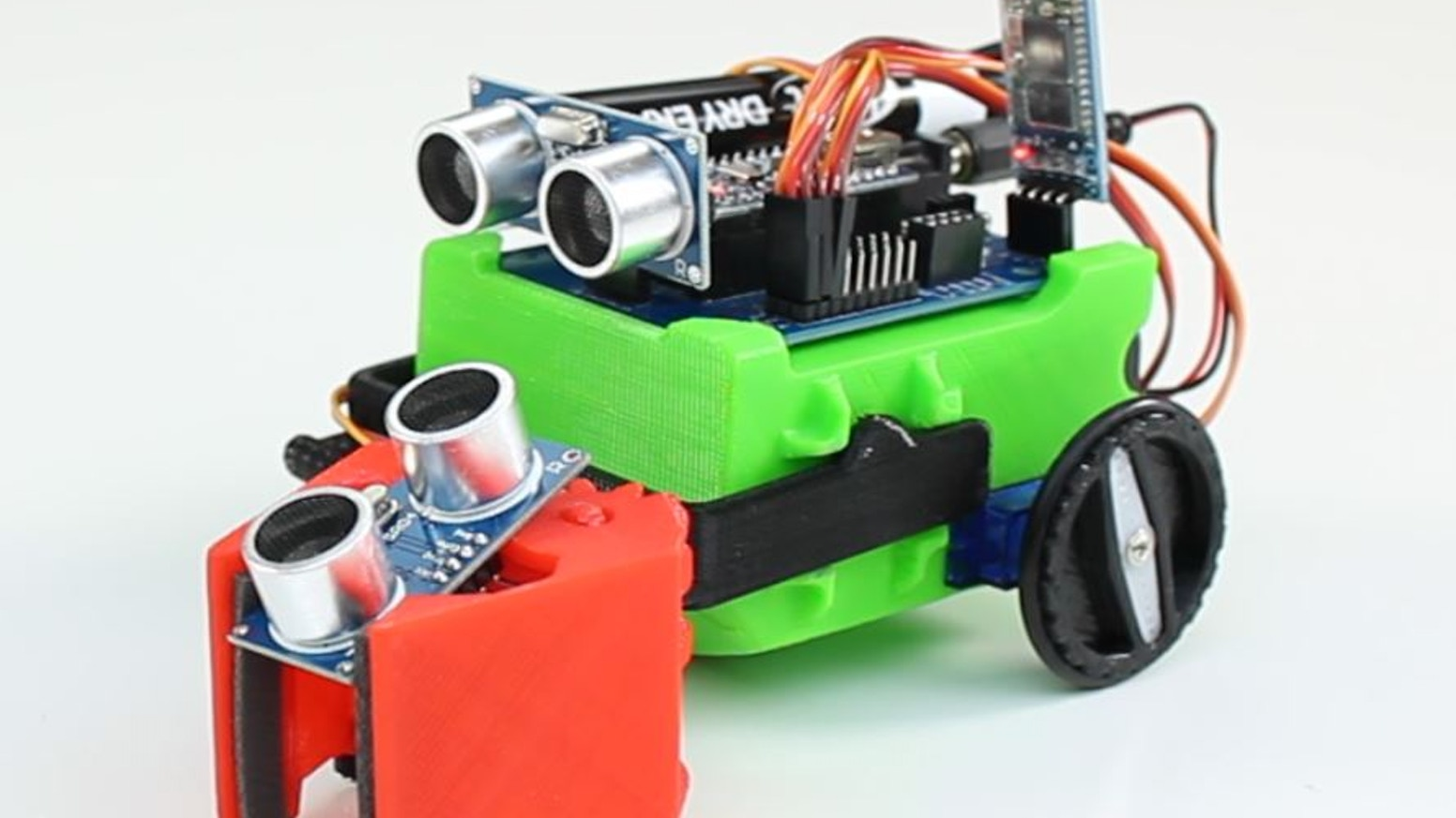 The 7th LittleBot is an affordable and simple robotics kit. Anyone can build it, learn from it and then expand it.