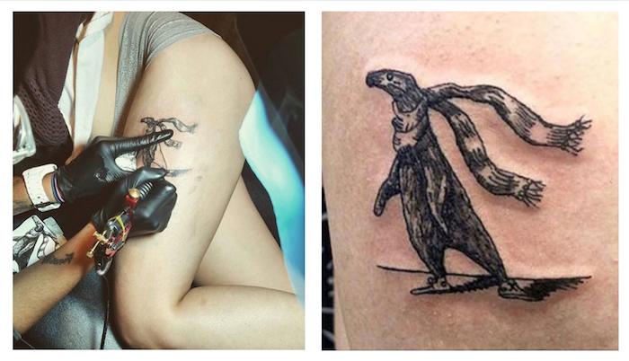 Tattooing Kat Hamilton, Musician