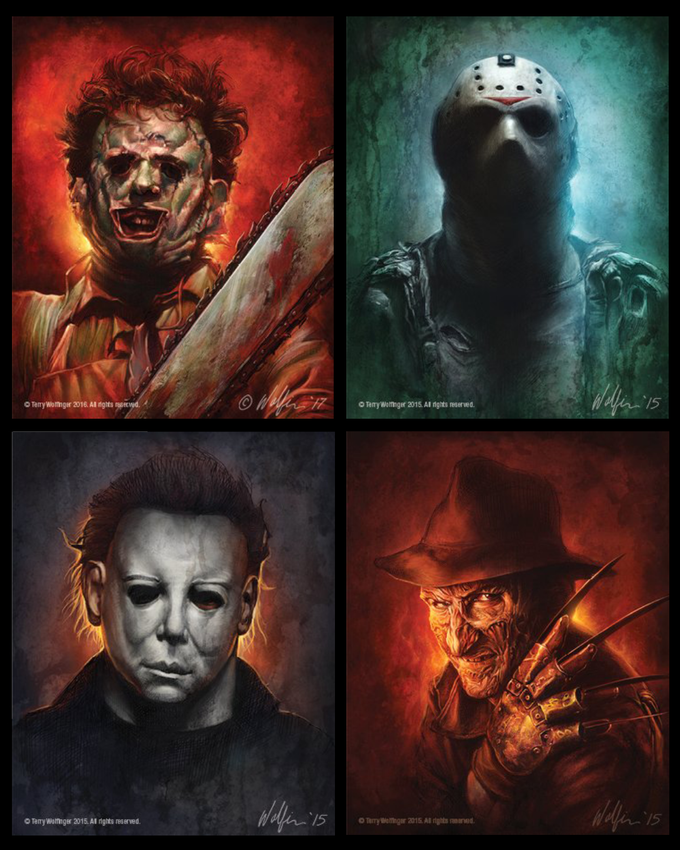 Wolfinger Magnet Set - Slasher Icons