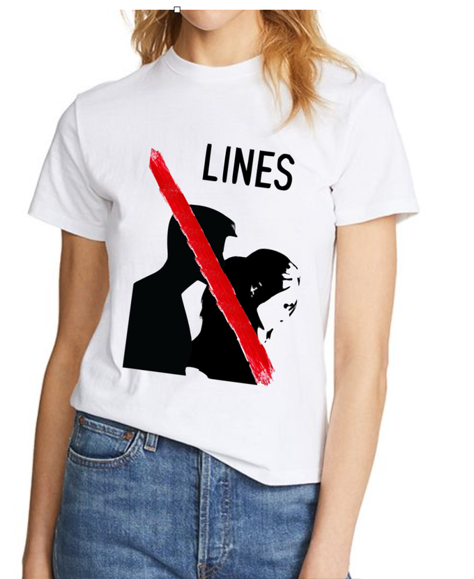 Donate £100 and receive a LINES  t-shirt!