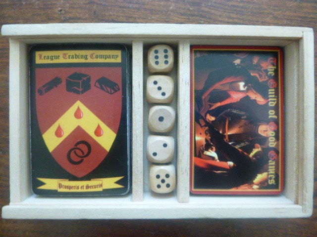 An extra game and 5 wooden dice are the sixth stretch goal