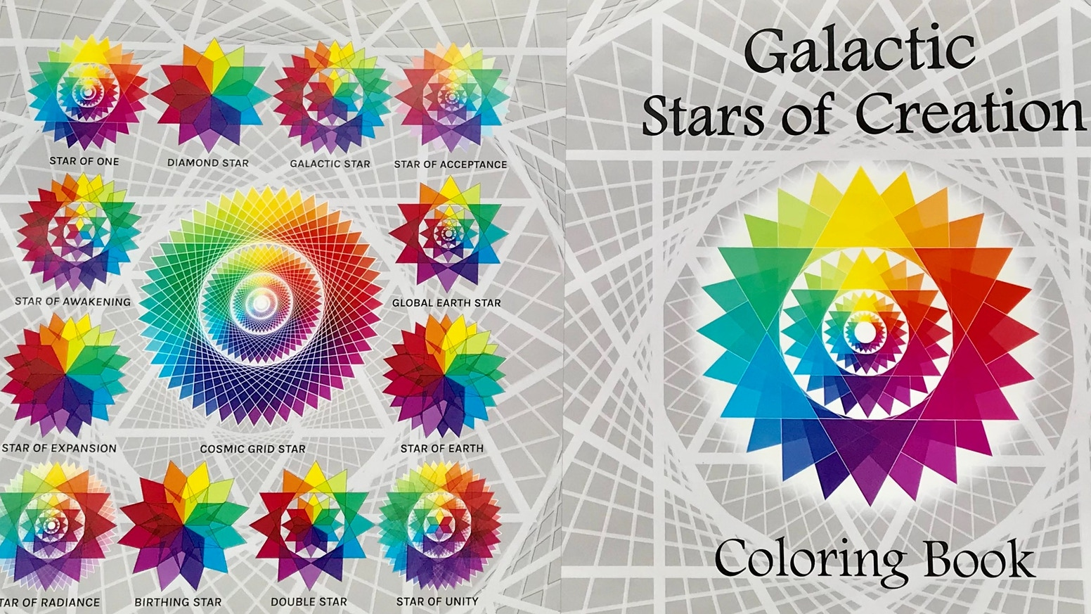 The Galactic Stars of Creation Coloring Book by Brian Porter ...