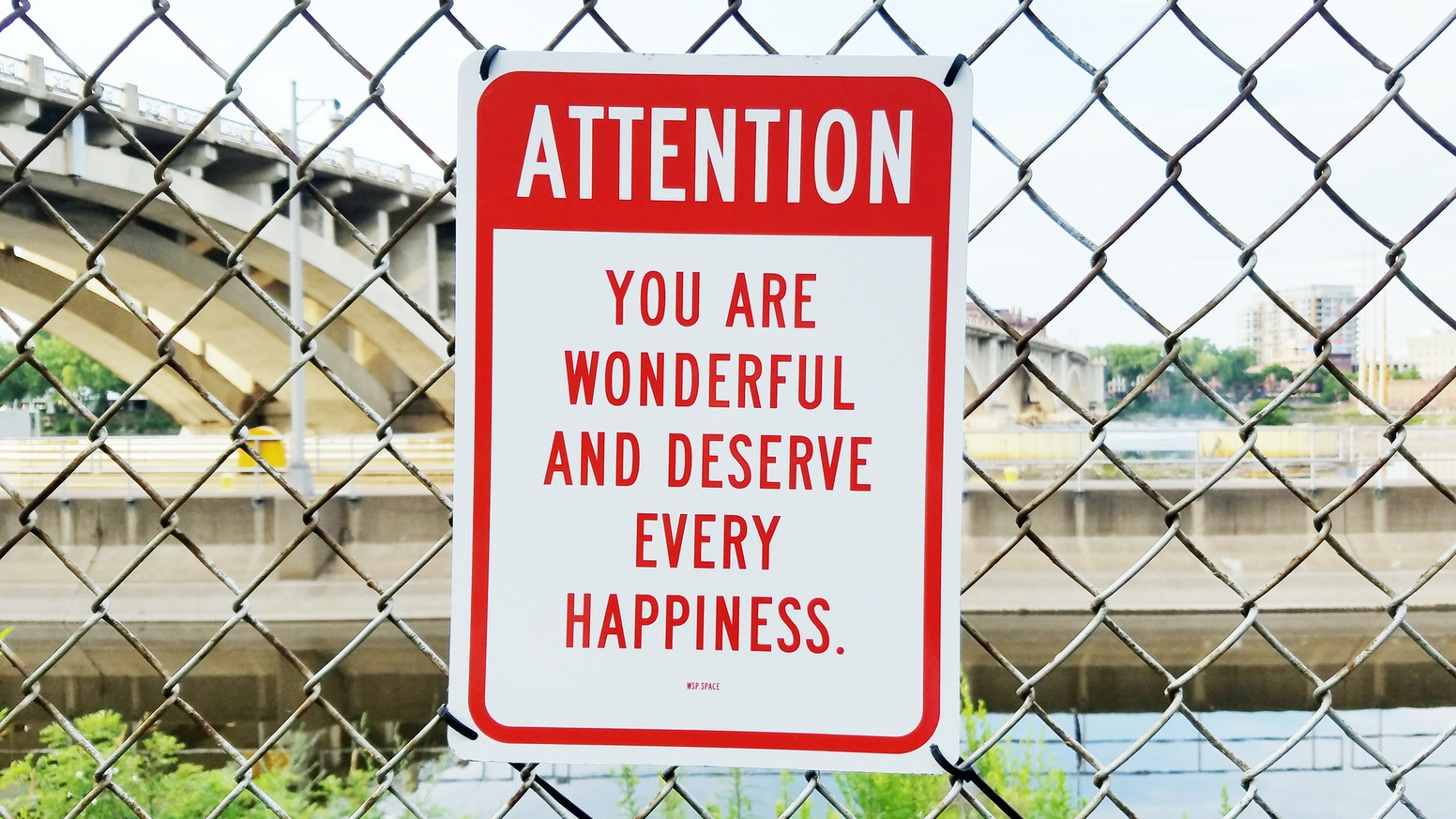A guerrilla art series of unexpected sayings on metal street signs, installed in public spaces. Now you can get a sign for yourself!