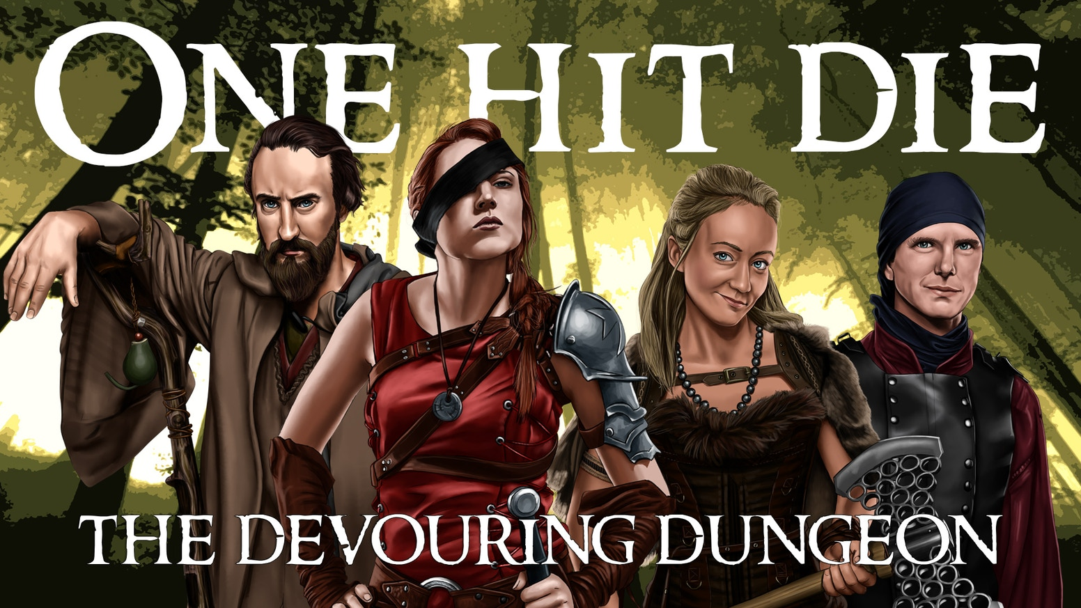 The third season of ONE HIT DIE, a fantasy comedy about inept gamers exploring The Devouring Dungeon.