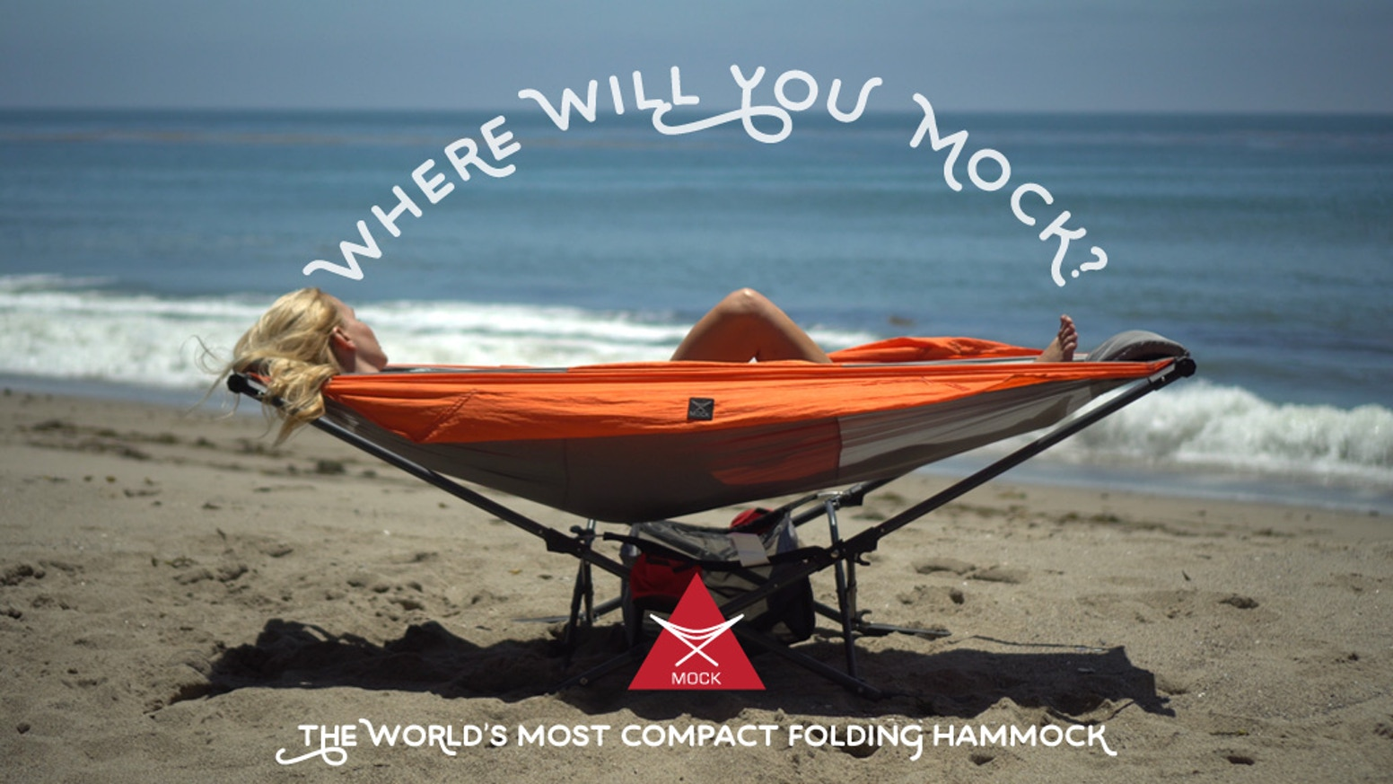 We've changed the hammock as we know it with the introduction of Mock ONE, the world's only compact folding hammock.