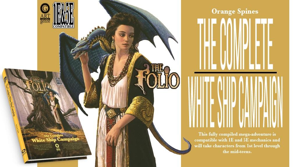 The Complete White Ship Campaign 1E&5E mega-adventure project video thumbnail
