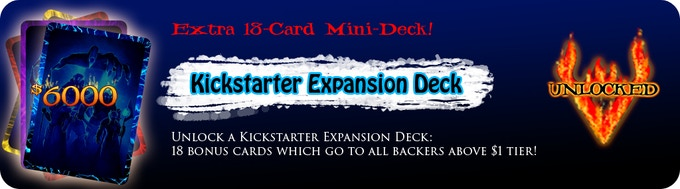 Unlocked: Free, Kickstarter-Exclusive 18-Card Mini Deck for all Backers at the $20 Tier or higher!