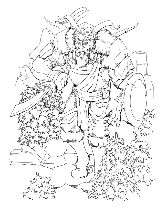The RPG Coloring Book by Arcana Games —Kickstarter