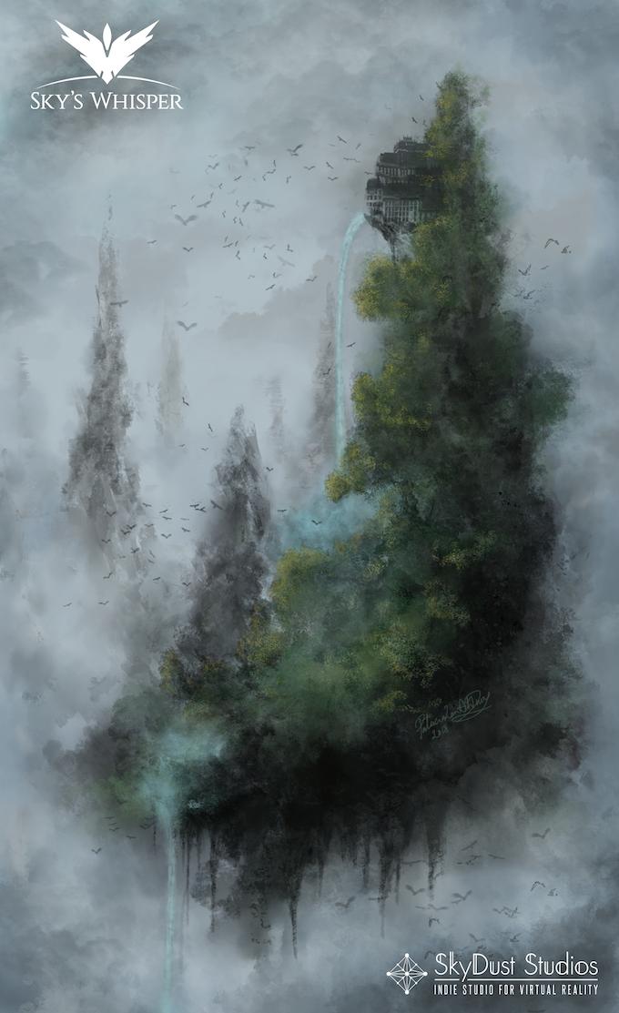 Dark Forest Island Concept Art